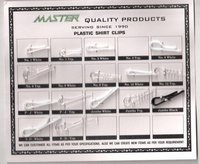 Plastic Shirt Packaging Clips