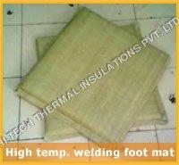 High Temperature Welding Foot Mat