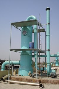 Fume/Wet Scrubber (Packed Bed And Ventury Type)