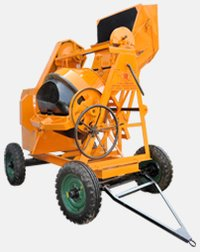 Concrete Mixer Machine (Mechanical)