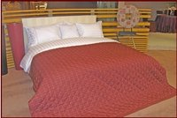 Luxury Hotel Bedding 3cm Stripe Series Bedding Set