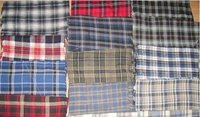 Yarn Dyed Cotton Flannel Fabrics
