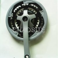 Steel Bicycle Crank and Chainwheel