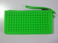 Cheap Promotional Gifts Silicone Wallet Coin Purse