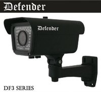 "(Defender - Df352) 520tvl, 1/3"" 760h Ccd, Weatherproof Ir Camera"