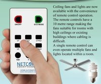Controlling Fan And Light Through Remote