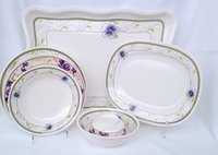 Melamine Dinnerware Round And Square 16pcs Set