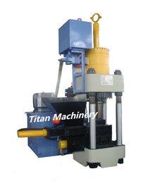 Metal Scrap Briquetting Machine