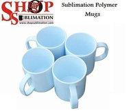 Sublimation Plastic Mugs.