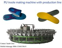 PU Shoe Injection Banana Typed Production Line