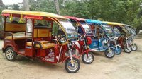 Battery Powered Rickshaw