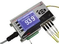 Real Time Fiber Optical Temperature Monitoring System