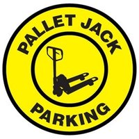 Floor Signs Pallet Jack Parking