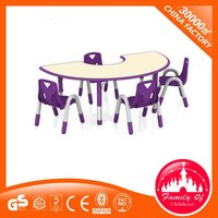 Preschool Plastic Children'S Tables And Chair