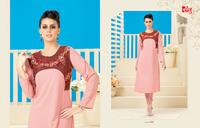 Designer Light Pink Kurti
