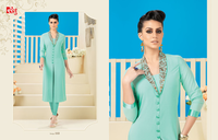 Designer Light  Green Kurti