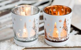 Tea Light Cup For Christmas