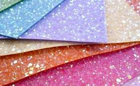 Unique Glitter Pattern Fabric