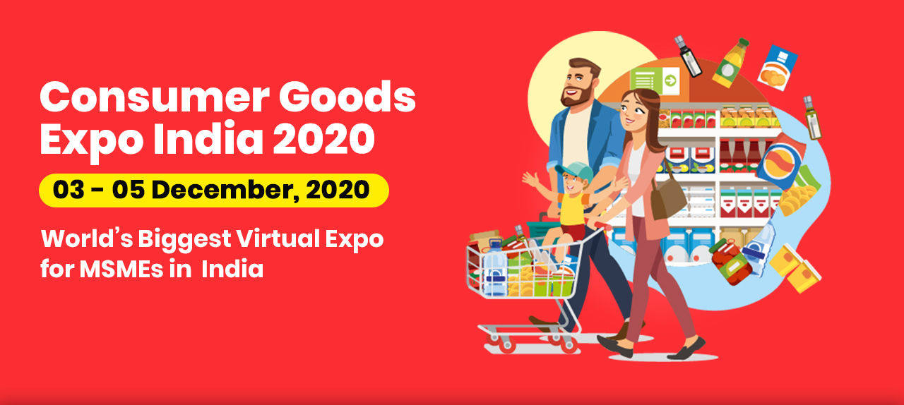 Consumer Goods Expo India 2020 Banner