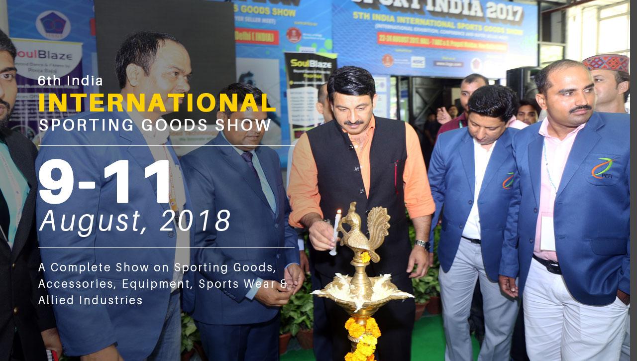 INDIA INTERNATIONAL SPORTING GOODS SHOW