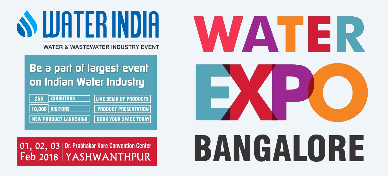 Water India's Water Expo 2018