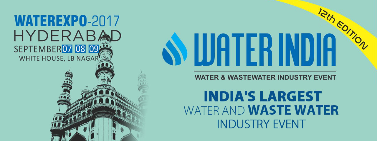 Water India's Water Expo 2017