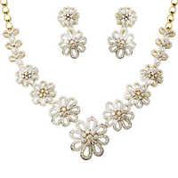 Flower Design Necklace