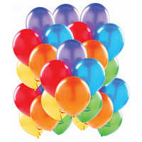 Rubber Balloon Advertisement