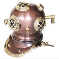 Brass Helmet