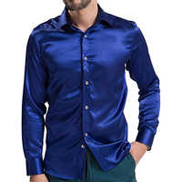 Mens Satin Shirts