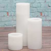 Polka Pillar Candle