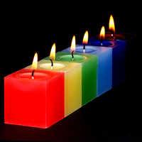 Rainbow Candle