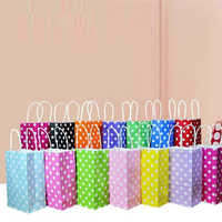 Polka Shopping Bags