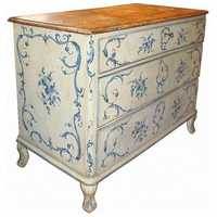 Antique Painted Chest