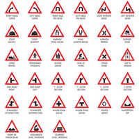Roadway Safety Sign