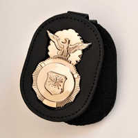 Leather Badge