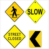 Road Signage Post