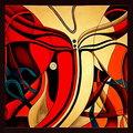 Abstract Ganesha Painting