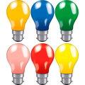 Coloured Light Bulbs