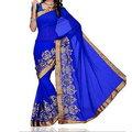 Blue Designer Sarees