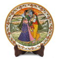 Marble Plate Painting