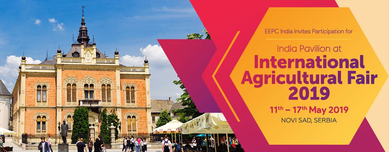 India Pavilion At International Agriculture Fair 2019