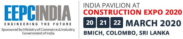 India Pavilion At Construction Expo 2019