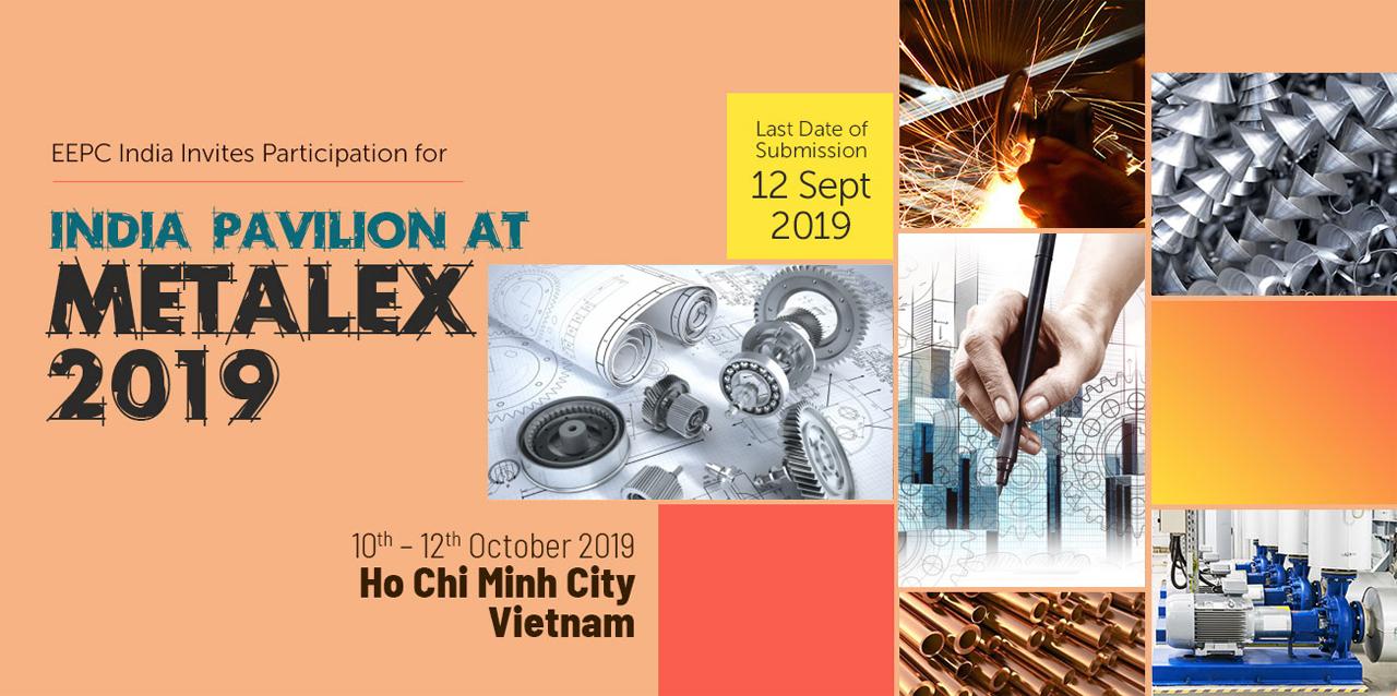 India Pavilion At Metalex 2019