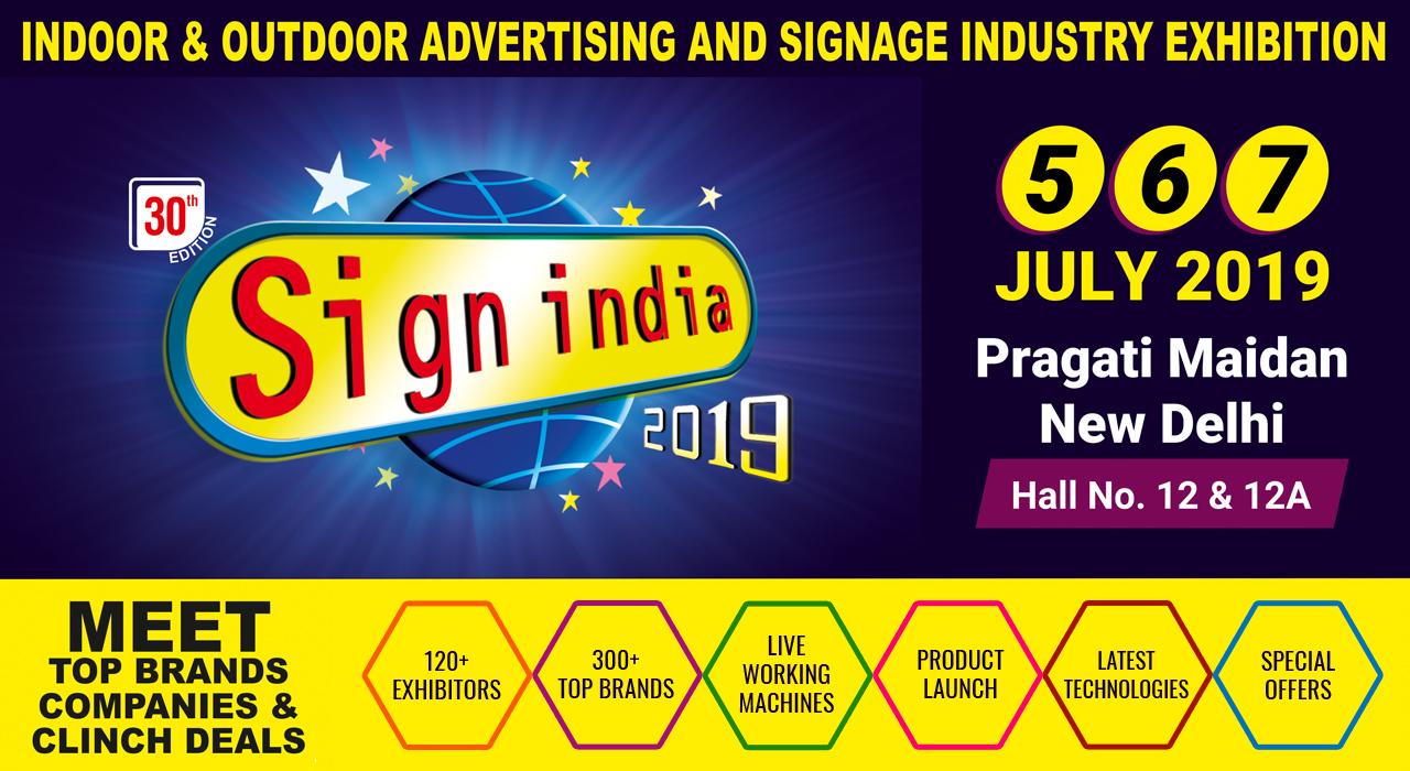 Sign India - Delhi 2019