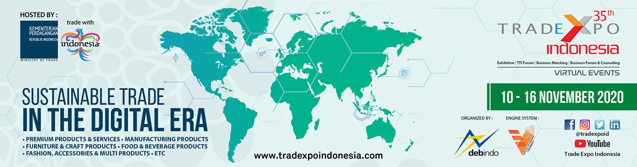 Trade Expo Indonesia Virtual Exhibition