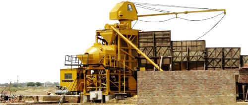 Industrial Compact Concrete Batching & Mixing Plant