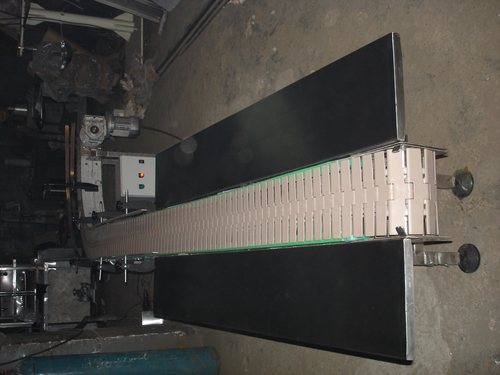 Heavy Duty Slat Chain Conveyor