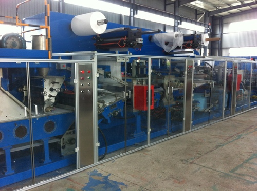 Underpads Machine, 130 Mt/Min