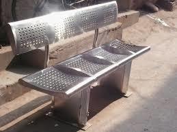 Industrial Steel Bench